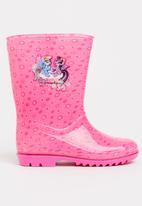 Character Fashion - Kids my little pony wellington rain boots - pink