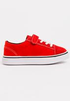 POP CANDY - Boys Low Top Sneaker Red