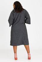 Isabel de Villiers - Kimono Jacket Charcoal