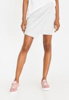 Converse - Star Chevron Track Skirt Grey