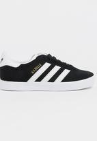 adidas Originals - Gazelle C adidas - black/white/gold