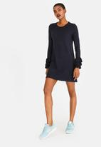 ONLY - Ginny Frill Dress Navy