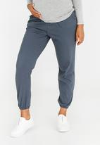 edit Maternity - Maternity Joggers with Pockets Charcoal