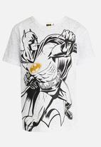 POP CANDY - Printed Short Sleeve Tee White