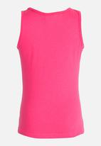 POP CANDY - Printed Vest Mid Pink