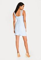 794d4e539de Isla Bandage Dress Pale Blue Sissy Boy Formal