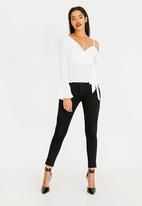 Sissy Boy - Assymetic Blouse Off White