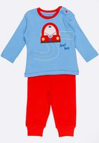 Baby Corner - Car PJ Set Multi-colour