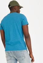 STYLE REPUBLIC - Cedarwood Print T- shirt Turquoise