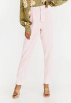 STYLE REPUBLIC - D-Ring Trouser Pale Pink