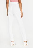 STYLE REPUBLIC - D-Ring Trouser Off White