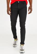 STYLE REPUBLIC - Skinny Fit Denim Black
