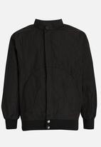 POP CANDY - Nylon Jacket Black