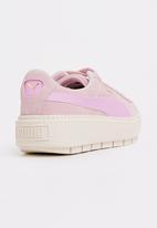 PUMA - Vikky Platform Ribbon  Sneaker Coral