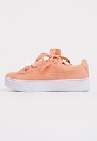 PUMA - Suede Platform Trace Sneaker Mid Pink