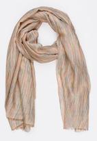STYLE REPUBLIC - Multi Stripe Scarf Multi-colour