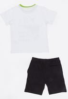 MINOTI - Nap 2 Piece PJ Set - Black and White