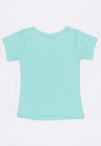 POP CANDY - Printed Short Sleeve Tee Mint
