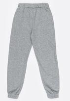 POP CANDY - Side Stripe Joggers Grey