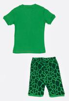 POP CANDY - Short Sleeve Printed Pj Set  - Green