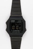Casio - Digital watch B650WB-1BDF-black