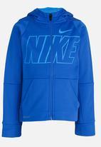 Nike - Nike Therma GFX PO Hoodie Blue