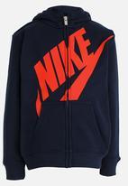 Nike - Nike Futura Fleece FZ Hoodie Navy