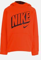 Nike - Nike Therma GFX PO Hoodie Orange