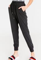 Tommy Hilfiger - Logo Waistband Pants Black