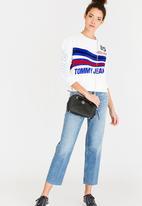 Tommy Hilfiger - Racing Logo Sweatshirt White