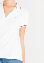 Tommy Hilfiger - Modern Fit Polo White