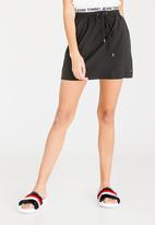 Tommy Hilfiger - Logo Waistband Skirt Black