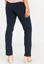 Cherry Melon - Basic Slimleg Work Pants Navy