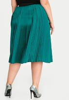 29e77443d Plus size pleated skirt - green STYLE REPUBLIC PLUS Bottoms & Skirts ...