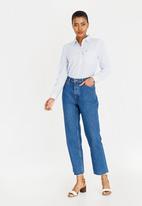 Tommy Hilfiger - Regular Stripe Shirt Pale Blue
