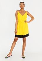 Tommy Hilfiger - Strap Sun Dress Yellow