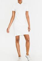 Tommy Hilfiger - Essential Polo Dress White