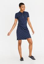 Tommy Hilfiger - Chiara Polo Dress Navy