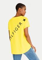 Tommy Hilfiger - Benni Graphic Tee Yellow