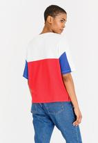 Tommy Hilfiger - Colour Block Tee White