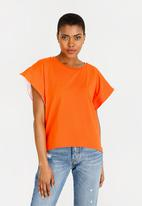 STYLE REPUBLIC - Oversized T-Shirt Orange