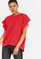 STYLE REPUBLIC - Oversized T-Shirt Red