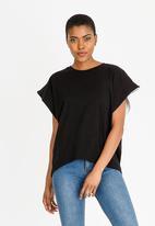 STYLE REPUBLIC - Oversized T-Shirt Black