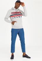 Tommy Hilfiger - Essential Graphic Hoody Grey Melange