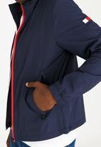 Tommy Hilfiger - Red White Zip Jacket Navy