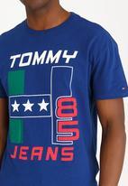 Tommy Hilfiger - Basic Cotton T-shirt Blue