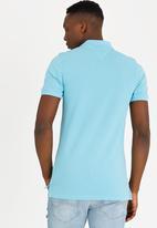 Tommy Hilfiger - Fine Garment Dye Polo Golfer Blue