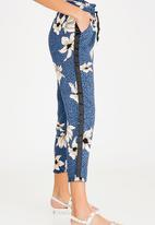 ONLY - Madison Ruffle Trousers Navy