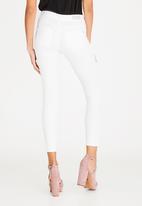 ONLY - Ultimate Shorter Length Skinny Jeans White