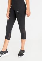 Nike - Nike Cropped Power Leggings Black